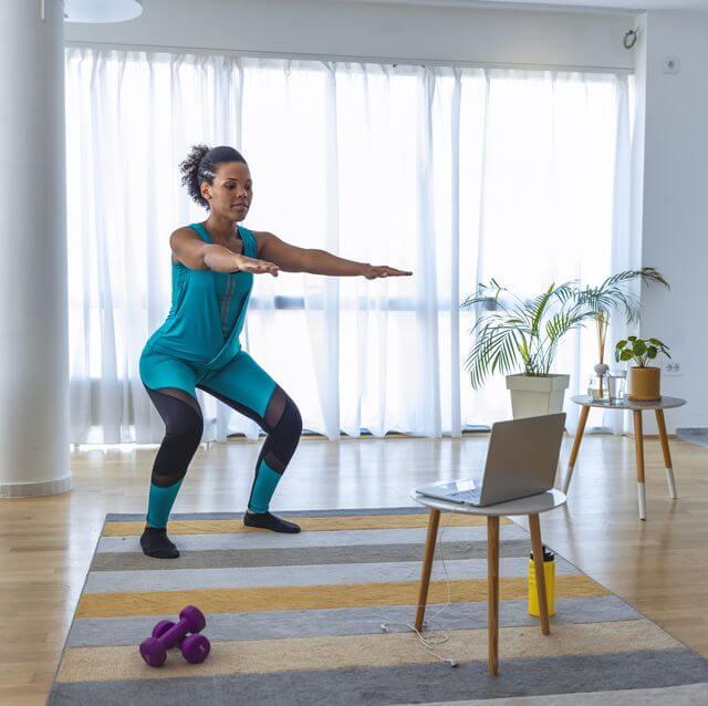 4 slags træning derhjemme